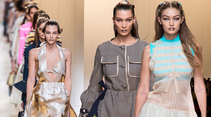 Milan Fashion Week: Fendi Spring/Summer '17