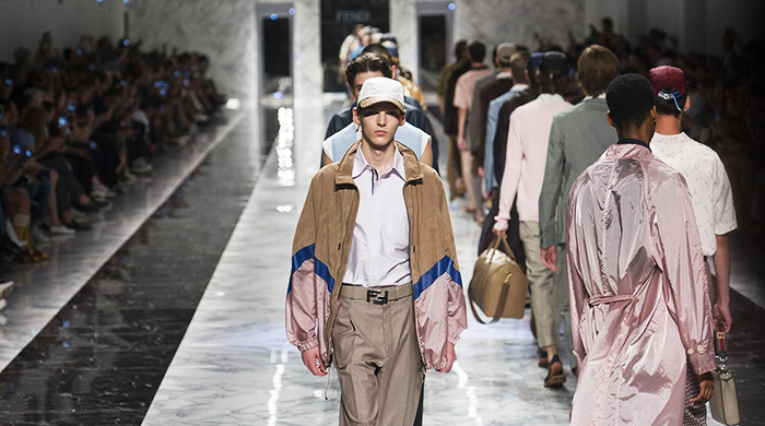 Men's Milan Fashion Week: Fendi Spring/Summer '18