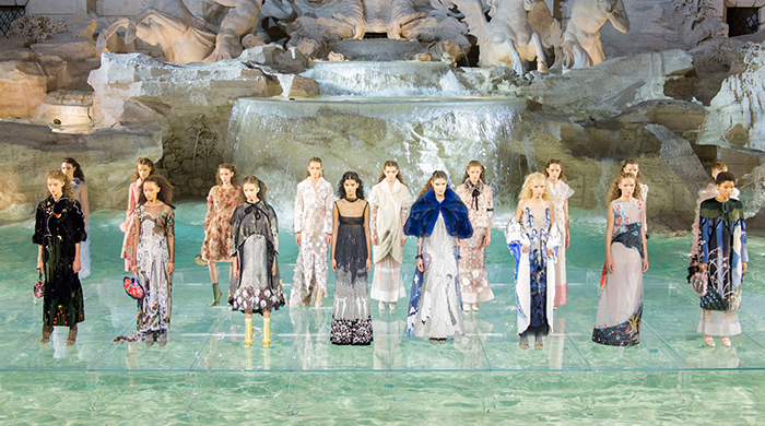 In Rome: Fendi presents Haute Fourrure