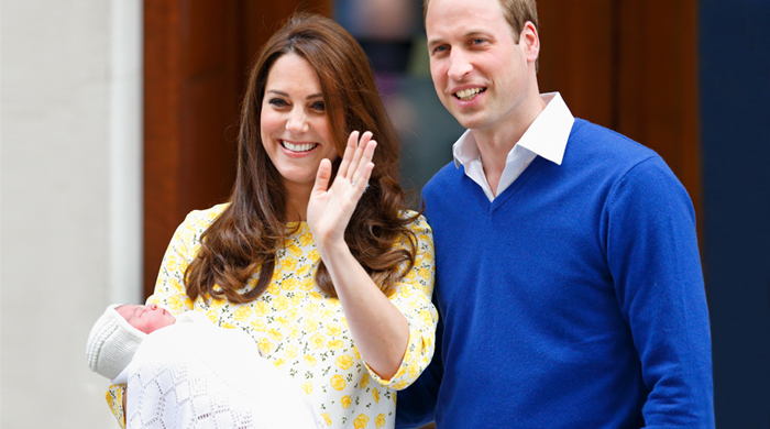 The Duke and Duchess of Cambridge make first appearance with newborn baby Princess
