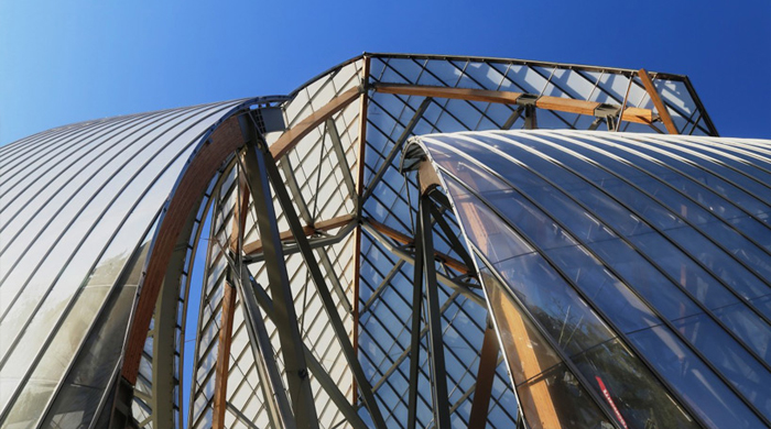 Frank Gehry's Fondation Louis Vuitton starting to blossom