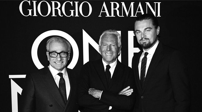 Giorgio Armani for The Wolf of Wall Street