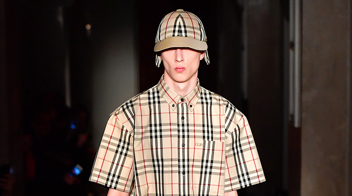 First look: Gosha Rubchinskiy x Burberry's collaborative collection
