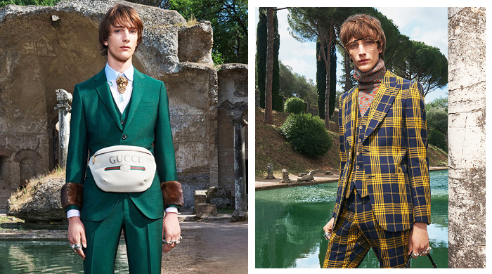First look: Gucci's Cruise '18 menswear collection