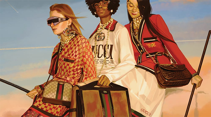Gucci just introduced a new online destination that focuses on sustainability