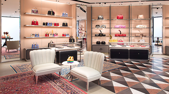 Now open: The new Gucci store at Bloomingdale's Kuwait