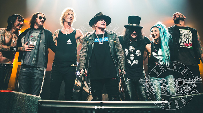 Guns N' Roses confirmed for Abu Dhabi's Formula One event