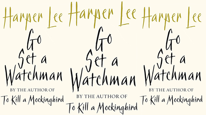 Could this be Harper Lee's new book cover?