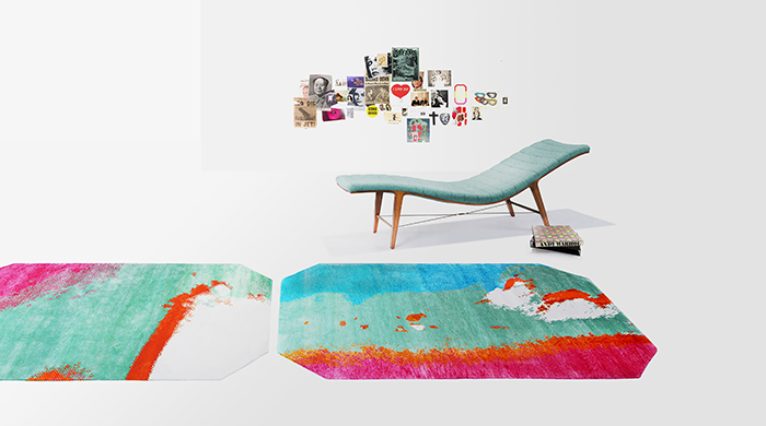 Henzel Studio to present Warhol-inspired rugs and pillows