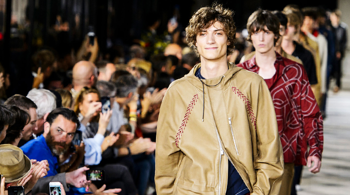 Men's Paris Fashion Week: Hermes Spring/Summer '18