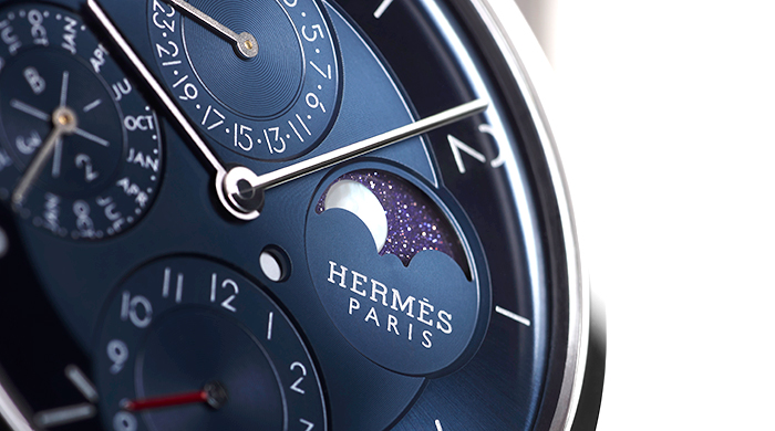 Horology must-have: The Slim d'Hermès Quantième Perpétuel Platine