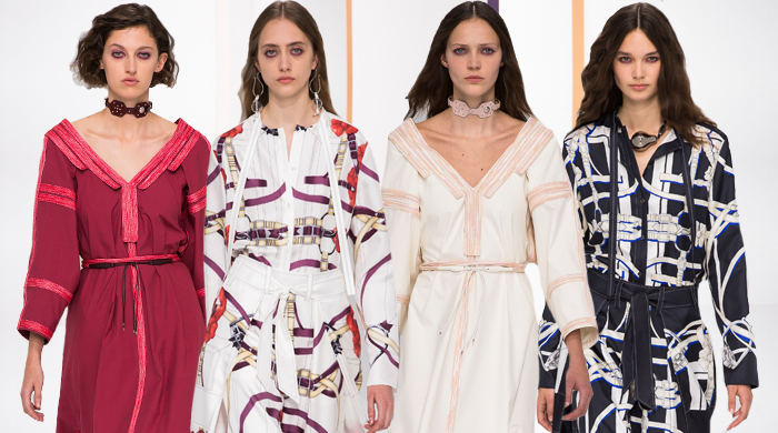 Paris Fashion Week: Hermès Spring/Summer '18