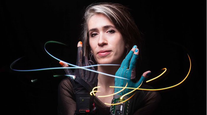 Watch now: Imogen Heap wears gesture-control gloves in new 'Me The Machine' music video