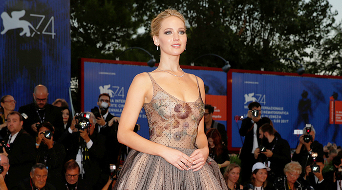 Exclusive: An inside look at Jennifer Lawrence's Venice Film Festival Dior dress