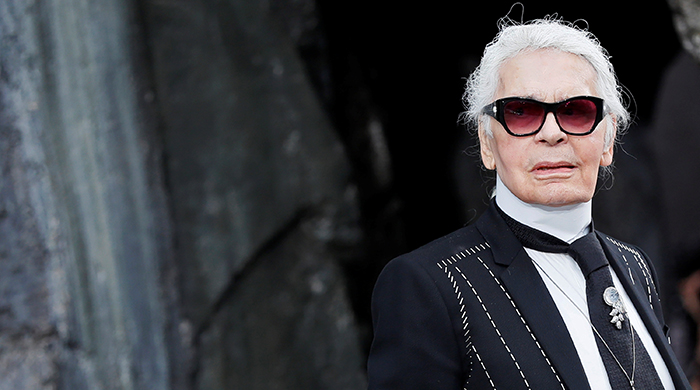 Karl Lagerfeld is releasing a limited-edition cutlery set with Christofle
