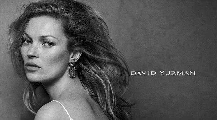 Kate Moss stars in David Yurman Spring/Summer 15 campaign ads