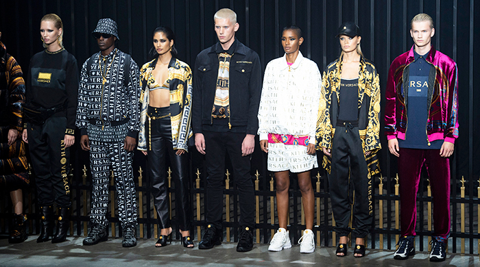 Kith revealed its collaboration with Versace at NYFW