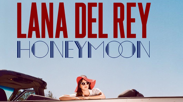 First look: Lana Del Rey reveals cover artwork for new album 'Honeymoon'