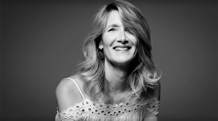 Laura Dern lands first beauty campaign at 51 for Kate Spade