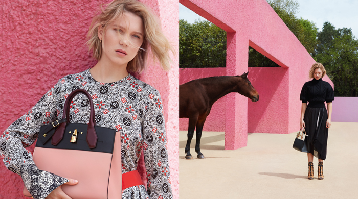 First look: Léa Seydoux for Louis Vuitton