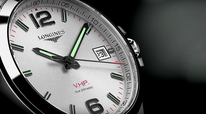 Time check: Longines' Conquest V.H.P.