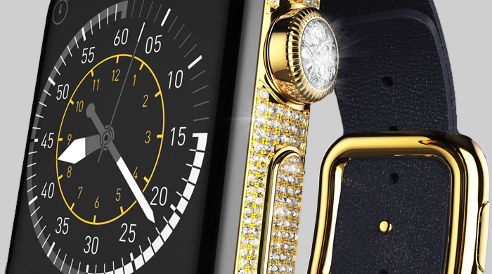 The £110,000 Apple Watch custom fit-out from Goldgenie