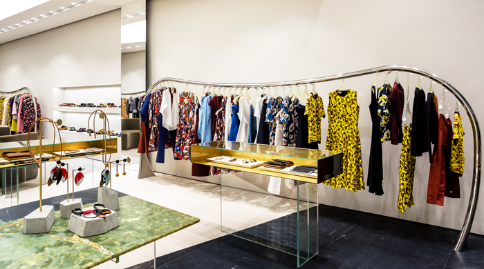 Welcome to Marni's new Mall of the Emirates flagship