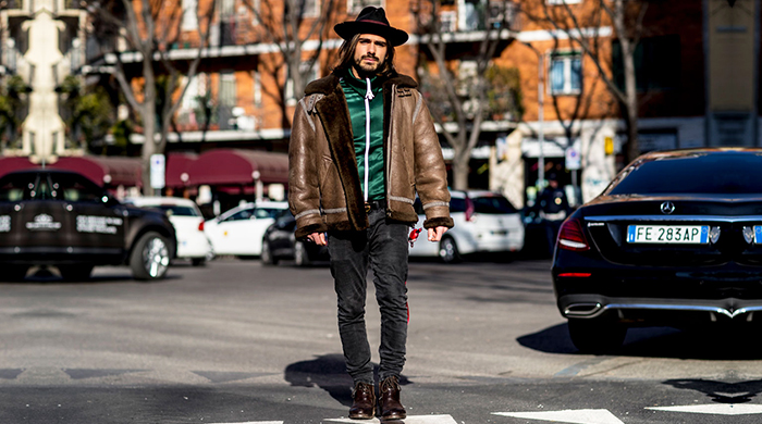 Men's Milan Fashion Week FW17: Street style