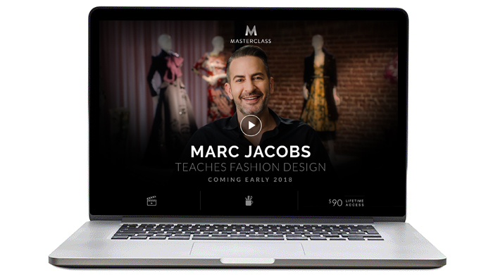 Marc Jacobs announces online fashion class