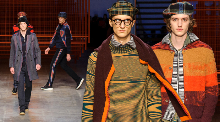 Men's Milan Fashion Week: Missoni Fall/Winter '17