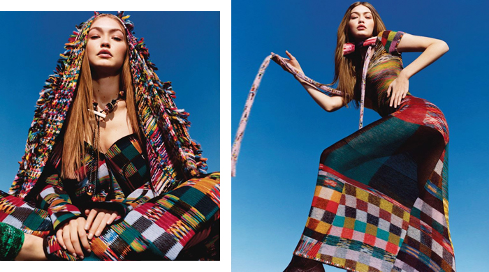 Gigi Hadid joins the Missoni tribe for Fall/Winter '18