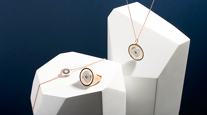 UAE exclusive: Monica Vinader's Evil Eye Diamond collection