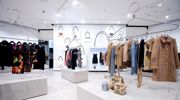Jeremy Scott opens first Dubai Moschino store