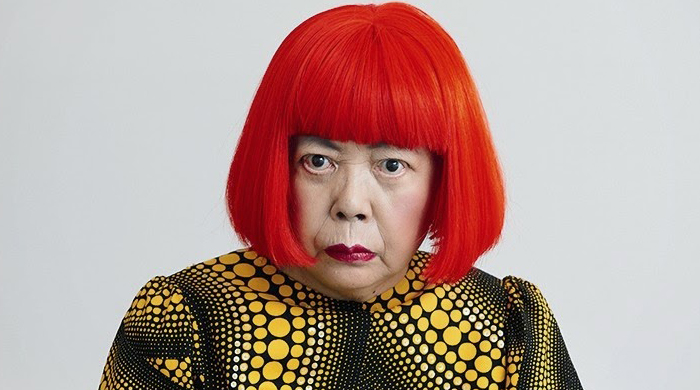 Yayoi Kusama is crowned the world's most popular artist