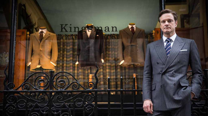 Mr Porter to launch line based on 'Kingsman: The Secret Service' film