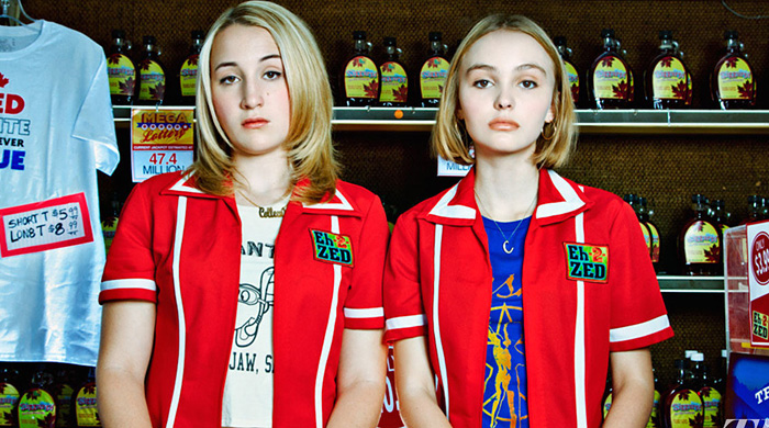 Lily-Rose Depp stars with her father Johnny Depp in Yoga Hosers