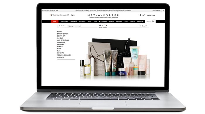 Exclusive launch: Net-a-Porter's holiday beauty box