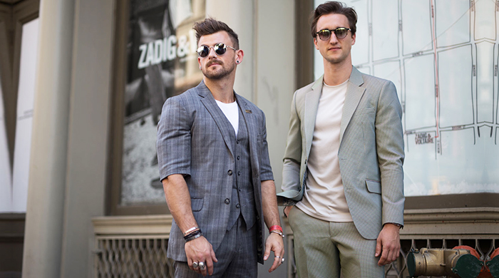 Men's New York Fashion Week: Street style part 1