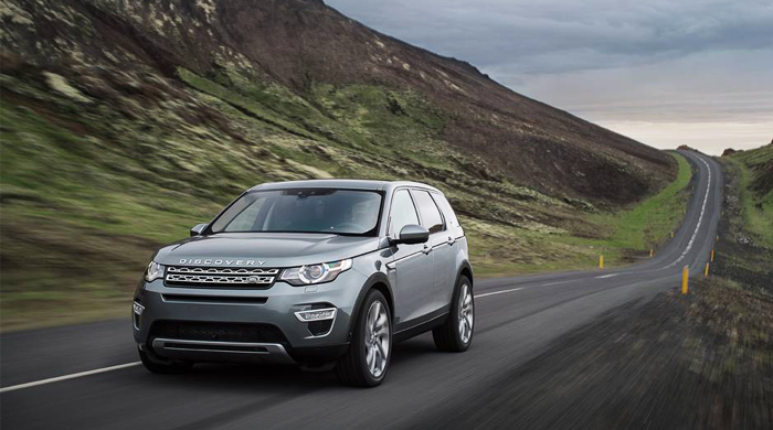 The new luxurious 2015 Land Rover Discovery Sport