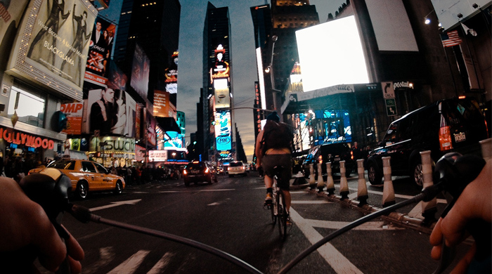 Photography series: New York City from a bicycle seat