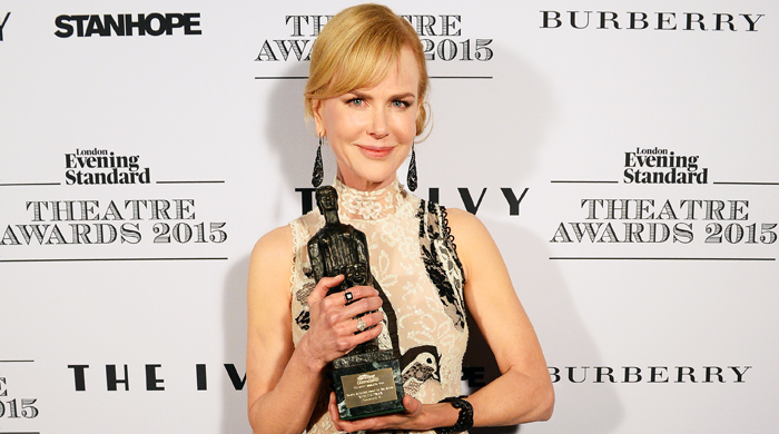 Nicole Kidman named Best Actress at the Evening Standard Theatre Awards