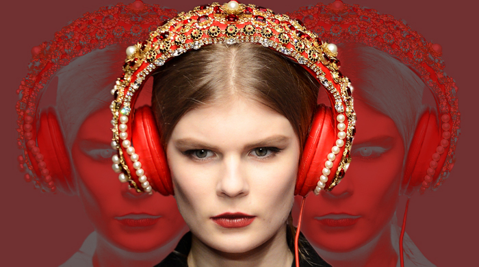 Object of desire: Dolce & Gabbana embellished headphones