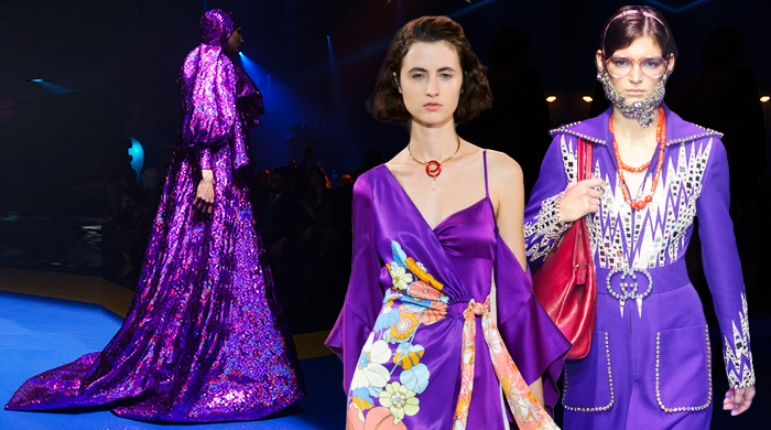 On the runway: Pantone's colour of the year 2018