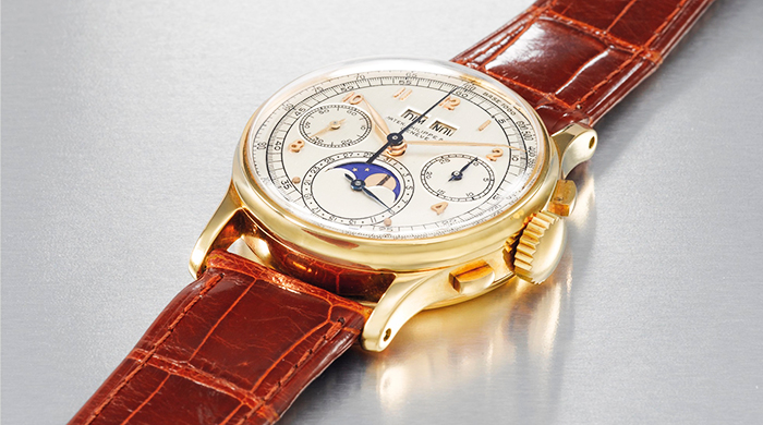 Christie's auctioned this royal-owned timepiece and it set a new record in the Middle East