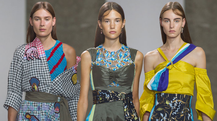 London Fashion Week: Peter Pilotto Spring/Summer '17