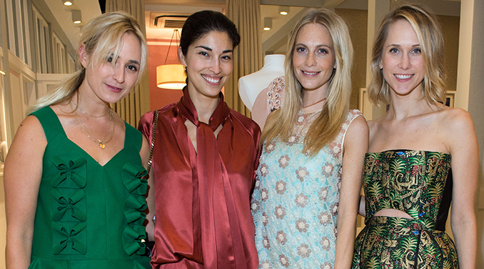 Delpozo host dinner with Poppy Delevingne in London