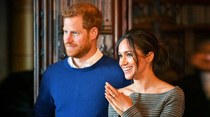 Prince Harry and Meghan Markle take their first royal trip to Wales