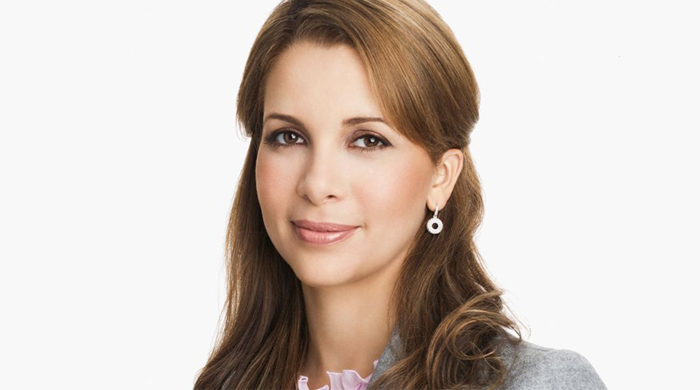 Dubai's Princess Haya is honoured by the United Nations in Davos