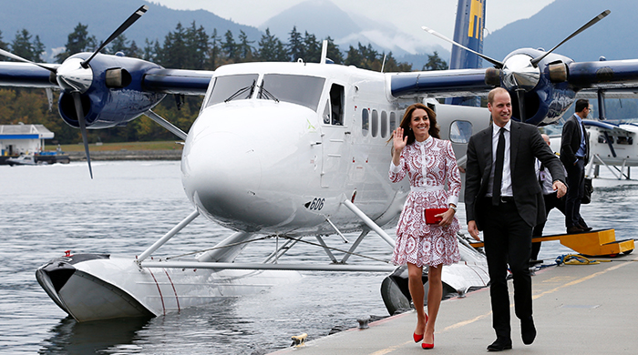 The British Royals Canadian tour: Day two