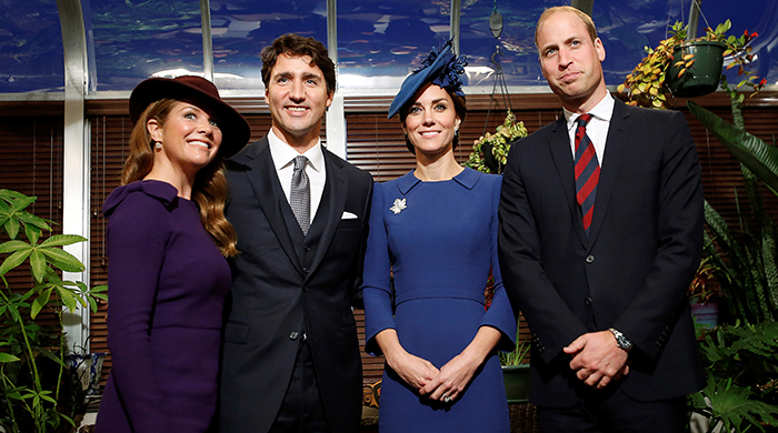 British royals arrive in Canada for official visit